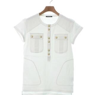 バルマン(BALMAIN)のBALMAIN Tシャツ・カットソー レディース(カットソー(半袖/袖なし))