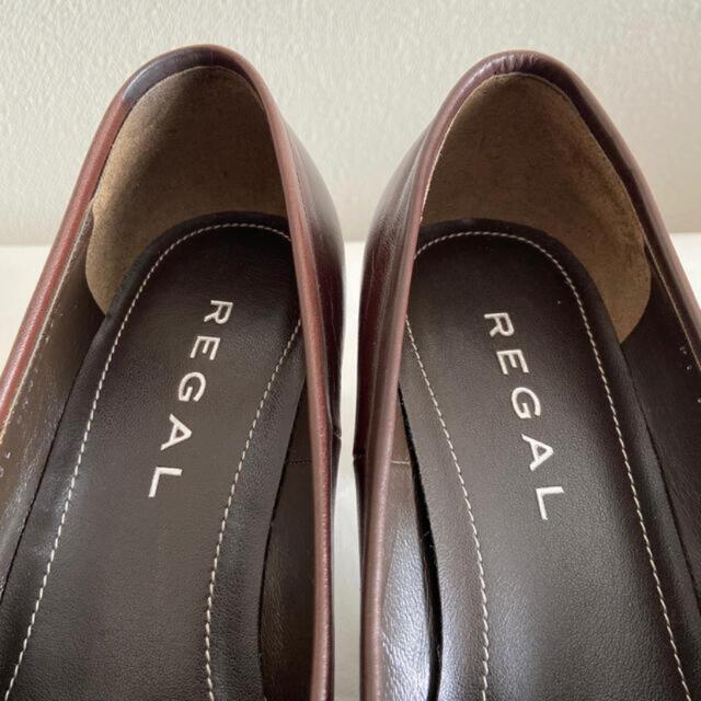 REGAL(リーガル)の【美品】REGAL モカ パンプス  レディースの靴/シューズ(ハイヒール/パンプス)の商品写真