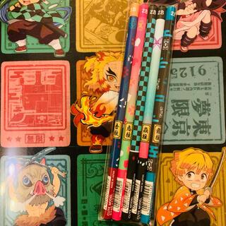 シュウエイシャ(集英社)の鬼滅の刃 公式 正規品 学習 鉛筆 2B 5本セット(キャラクターグッズ)