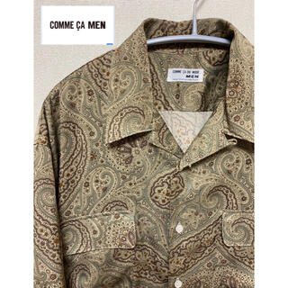 COMME CA DU MODE - COMME CA DU MODE ネルシャツ