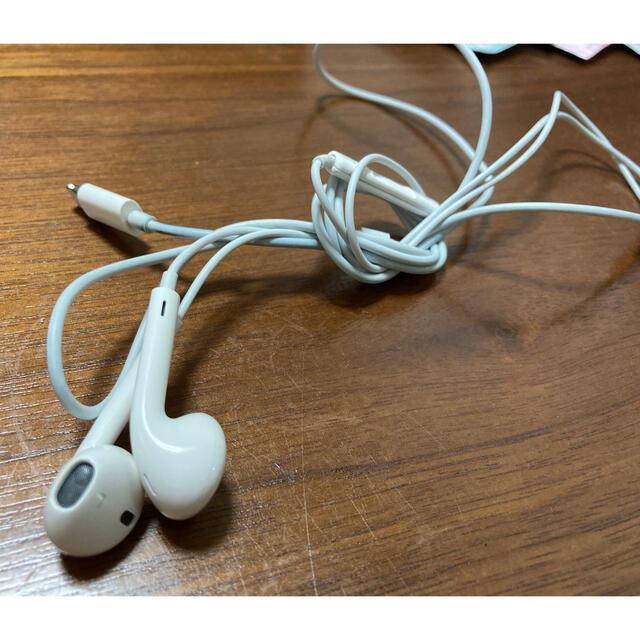 Apple(アップル)のApple イヤホン 正規品 スマホ/家電/カメラのオーディオ機器(ヘッドフォン/イヤフォン)の商品写真