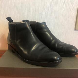 REGAL - 25.5cm リーガル サイドゴア ブーツ 革靴 レザーシューズ