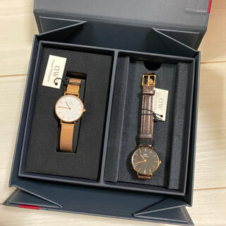 ダニエルウェリントン(Daniel Wellington)のダニエルウェリントン 時計 2つセット レディース(腕時計)