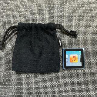 アップル(Apple)のi Pod nano 第6世代(ポータブルプレーヤー)