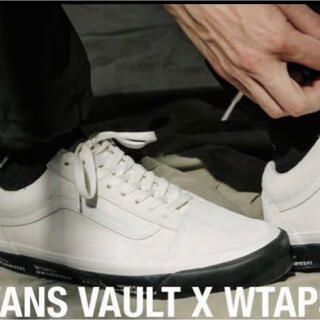 W)taps - 27cm  WTAPS×VANS VAULT OG OLD SKOOL新品正規