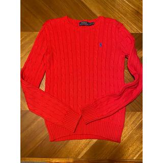 ポロラルフローレン(POLO RALPH LAUREN)のラルフローレン セーター赤色(ニット/セーター)