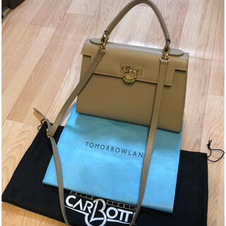 TOMORROWLAND - CARBOTTI*定価¥51,700!ショルダーハンドバッグ