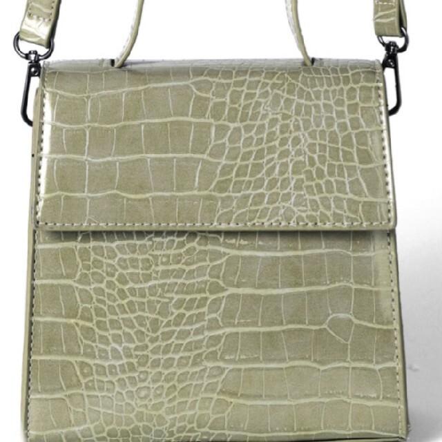 GRL(グレイル)の【新品】2wayクロコダイル柄ショルダーバッグ レディースのバッグ(ショルダーバッグ)の商品写真