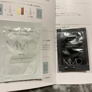 エムアイエムシー(MiMC)のMiMC2点♡美容液&ミネラルリキッドリーファンデーション(ファンデーション)