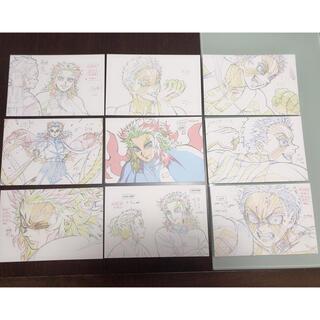【最安値 】無限列車編  原画  ポストカード9枚セット