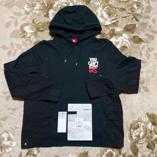 サカイ(sacai)のNIKE SACAI customized hoodie パーカー 3 黒 L(パーカー)