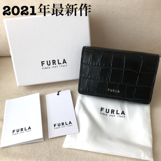 Furla - 付属品全て有り★新品 FURLA 2021年春夏 名刺/カードケース NERO