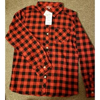 エドウィン(EDWIN)の新品 EDWIN ネルシャツ 長袖 160(ジャケット/上着)