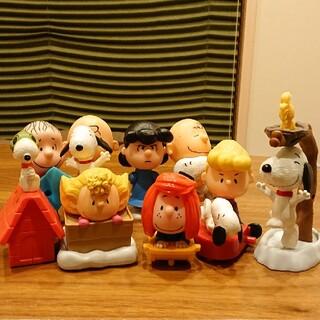 マクドナルド(マクドナルド)のマクドナルド おもちゃ スヌーピー 9個セット(キャラクターグッズ)