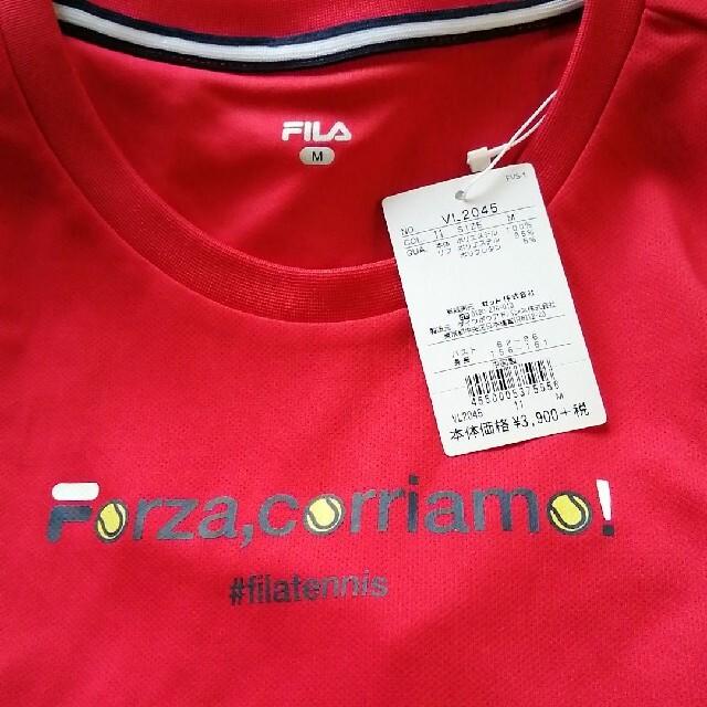 FILA(フィラ)の新品未使用 フィラ Tシャツ レディースのトップス(Tシャツ(半袖/袖なし))の商品写真
