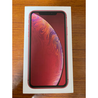 iPhone XR Red 128GB SIMフリー