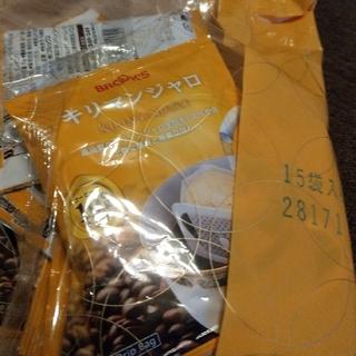 ブルックス(Brooks)のBROOKS ドリップバック キリマンジャロ 15袋(コーヒー)