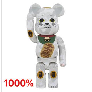 MEDICOM TOY - BE@RBRICK BAPE(R) ベアブリック/招き猫 1000%