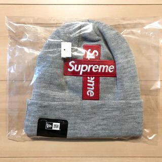 シュプリーム(Supreme)のシュプリーム New Era Cross Box Logo Beanie(ニット帽/ビーニー)