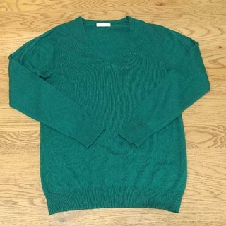 オペークドットクリップ(OPAQUE.CLIP)のオペックVネックセーター(ニット/セーター)