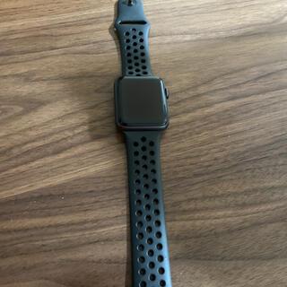 アップル(Apple)のapplewatch series3(腕時計(デジタル))