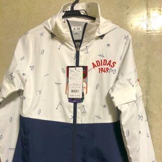 アディダス(adidas)の新品!アディダス  ゴルフ ストレッチ 2WAY ウインドジャケット Ⓜ️(ウエア)