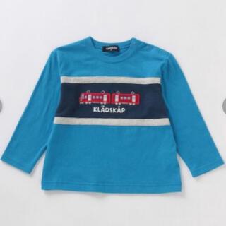 クレードスコープ(kladskap)の◆クレードスコープ 電車 長袖Tシャツ 120  (Tシャツ/カットソー)