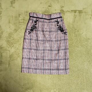 アプワイザーリッシェ(Apuweiser-riche)の美品☆アプワイザーリッシェタイトスカート(ひざ丈スカート)