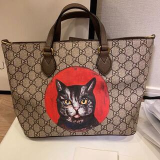 グッチ(Gucci)のGUCCI ミスティックキャット トートバッグ ショルダー 猫 キャット(トートバッグ)