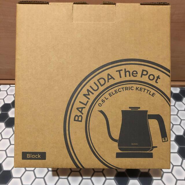 BALMUDA(バルミューダ)の【未使用】バルミューダ ザ・ポット 電気ケトル BALMUDA The Pot スマホ/家電/カメラの生活家電(電気ケトル)の商品写真