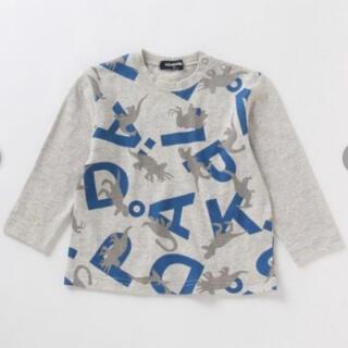 クレードスコープ(kladskap)の◆クレードスコープ 恐竜 長袖Tシャツ 120 (Tシャツ/カットソー)