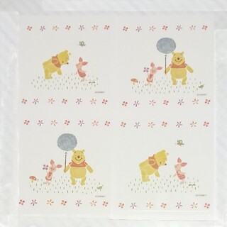 クマノプーサン(くまのプーさん)の500円off 12枚セット タイルシール プーさん ディズニー リメイク(その他)