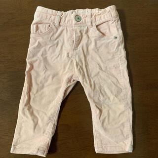 ザラキッズ(ZARA KIDS)のZARA パンツ ズボン ピンク 74(パンツ)