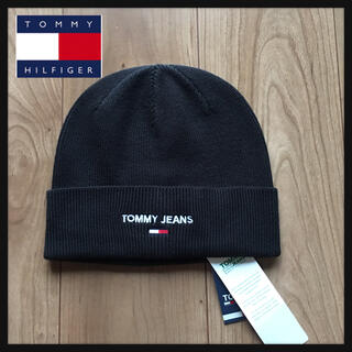 TOMMY JEANS トミージーンズ ロゴニット帽