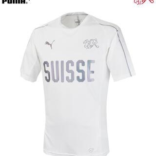 プーマ(PUMA)のスイス代表2018 トレーニングジャージ ロシアワールドカップモデル  (サッカー)
