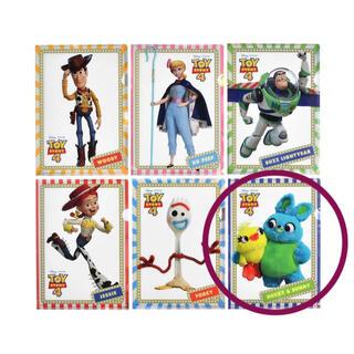 ディズニー(Disney)のディズニー トイストーリー4 シークレットクリアファイル ダッキー&バニー(クリアファイル)