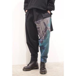 Yohji Yamamoto - yohjiyamamoto 内田すずめ マドンナ柄ミリタリーパンツ