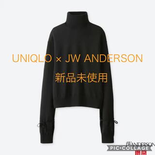 UNIQLO - ユニクロ JW ANDERSON タートルネック 新品タグ付き セーター 黒