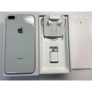 iPhone - iPhone8 Plus Silver 256Gb Simフリー 残債なし