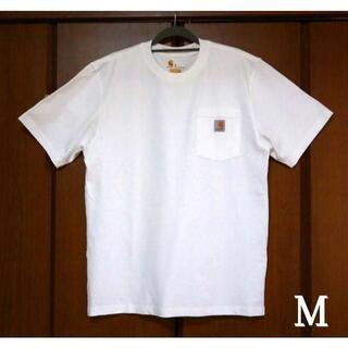 カーハート(carhartt)のCarhartt ホワイト Tシャツ/M(Tシャツ/カットソー(半袖/袖なし))