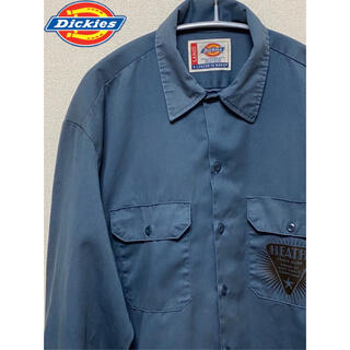 ディッキーズ(Dickies)のDickies ワークシャツ 90s(シャツ)