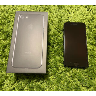 Apple - iPhone7 jet Black128GB