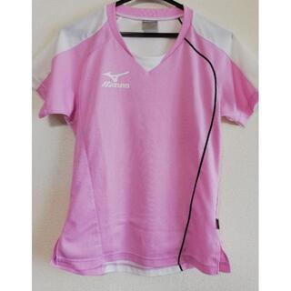 ミズノ(MIZUNO)のミズノ スポーツTシャツ レディース L(ウェア)