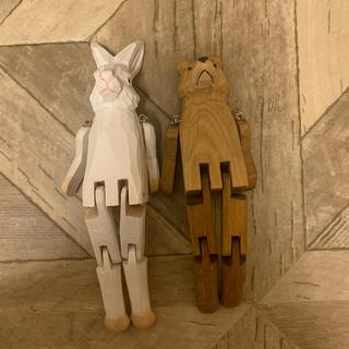 スタディオクリップ(STUDIO CLIP)のSalut! studio CLIP アニマル 人形 セット(置物)
