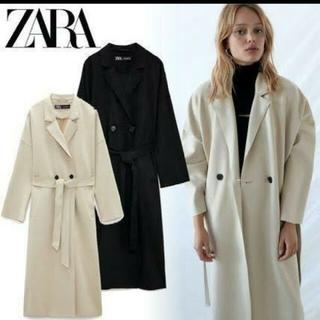 ZARA - ZARA スエード風トレンチコートMサイズ