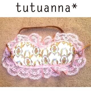 チュチュアンナ(tutuanna)のtutuanna レース アイマスク(旅行用品)
