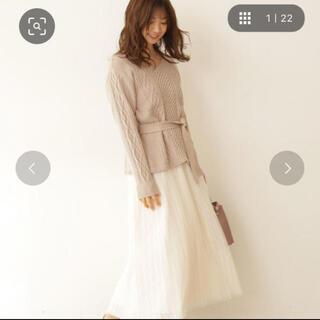 PROPORTION BODY DRESSING - プロポーションボディドレッシング ニット&スカート