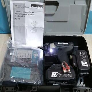 マキタ(Makita)のマキタ XDT15   18V インパクトドライバー  フルセット(工具/メンテナンス)