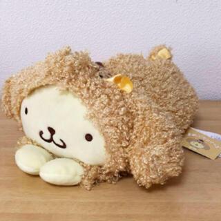ポムポムプリン(ポムポムプリン)のポムポムプリン♡まめぷち♡クッション♡犬♡新品タグ付き(キャラクターグッズ)