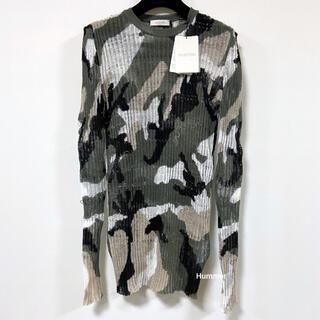 ヴァレンティノ(VALENTINO)の国内正規品 ヴァレンティノ リネン 薄手 ニット セーター コレクション!(ニット/セーター)